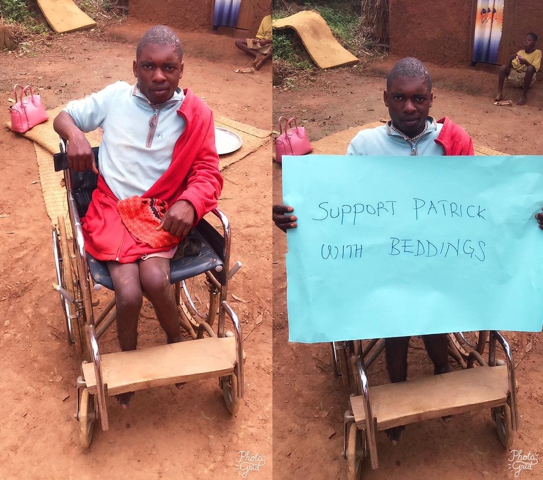 Tayebwa Patric 20 years stays in Butale Kitumba subcounty .